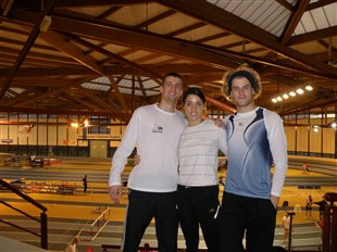 3 records personnels sur 400m indoor